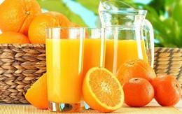 Cách uống nước cam tốt cho sức khỏe?