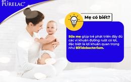Tại sao trẻ bú mẹ thường ít ốm vặt hơn dùng sữa công thức và cách chọn sữa cho trẻ?