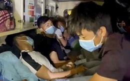 """Phát hiện xe cấp cứu chở """"chui"""" 12 người từ Bắc Ninh về Sơn La"""