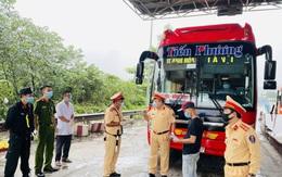 Tạm dừng hoạt động vận tải hành khách liên tỉnh từ Thanh Hóa đi, đến tỉnh Nghệ An, Hà Tĩnh và ngược lại