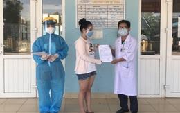 Một bệnh nhân COVID-19 điều trị tại Quảng Trị khỏi bệnh