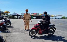 Lượng người từ Đà Nẵng về Huế lớn, lực lượng chức năng căng mình làm nhiệm vụ