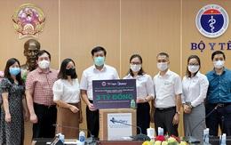 Bộ Y tế tiếp nhận 3 triệu bơm kim tiêm và 40.000 test nhanh kháng nguyên SARS-CoV-2