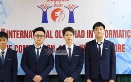 Việt Nam giành 4 huy chương Bạc Olympic Tin học quốc tế 2021
