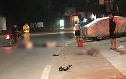 3 người ngồi xe mô tô thương vong khi đấu đầu với ô tô trên quốc lộ 2