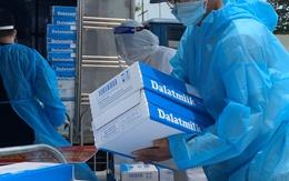 Tập đoàn TH trao tặng 81.240 ly sữa tươi sạch góp sức chống dịch cùng TP Hồ Chí Minh