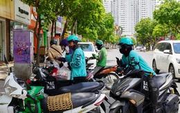 """Shipper ở Hà Nội """"cháy đơn"""" đợt nắng nóng, thu nhập không cao như lời đồn"""