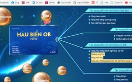 Vì sao Công ty phân phối Hàu biển OB và Hàu biển OB New bị lập biên bản xử phạt?