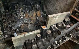 Rơi nước mắt cảnh tang lễ gia đình có 4 người tử vong trong vụ cháy ở Quảng Ngãi