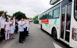 52 tình nguyện viên lên đường chi viện Hà Tĩnh chống dịch COVID-19
