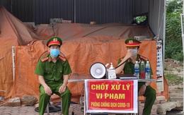 Sau khi phát hiện ca tái dương tính, thị trấn Bút Sơn vắng lặng