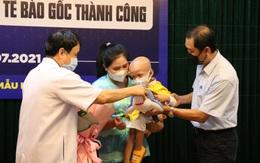 Bệnh nhi thứ 10 ghép tế bào gốc ở Bệnh viện TW Huế xuất viện