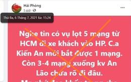 """Đăng thông tin sai sự thật, chủ Fanpage """"Hải Phòng"""" bị phạt 12,5 triệu đồng"""