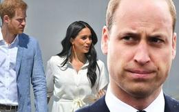 """Thể hiện thái độ cứng rắn với vợ chồng em trai, Hoàng tử William nhận """"gạch đá"""""""