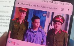 Hành động của tử tù nhiễm Covid-19 khi thấy mình trên tivi