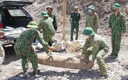 Phát hiện quả bom nặng gần 230kg tại mỏ than lộ thiên ở Quảng Ninh