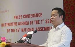 Kỳ họp thứ nhất, Quốc hội khóa XV sẽ dành 3 ngày để kiện toàn nhân sự