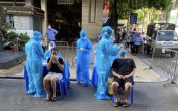 Chỉ nửa buổi sáng, Hà Nội thêm 16 người dương tính với 4 chùm ca bệnh đều cùng nhà, cùng cơ quan