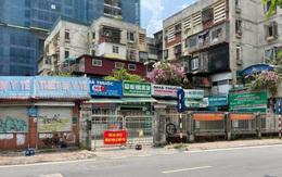 Cận cảnh khu vực chùm ca bệnh mới ở Hà Nội