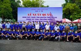 Đoàn thầy thuốc tình nguyện Lào Cai lên đường tới Bình Dương chung tay đẩy lùi Covid-19