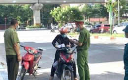 Trong 6 ngày đầu giãn cách, Hà Nội xử phạt hơn 5,4 tỷ đồng
