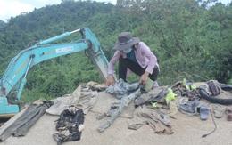 Nỗ lực tìm kiếm công nhân mất tích ở thủy điện Rào Trăng 3, tìm thấy nhiều vật dụng cá nhân