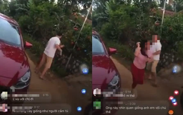 Tình tiết mới gây bất ngờ về vụ việc vợ nằm trên nắp capo đánh ghen giữa đường