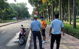 TP.HCM: Ra công viên tập thể dục, 3 người đàn ông bị phạt 6 triệu đồng