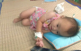 Thương cảm hoàn cảnh bé gái 1 tuổi dân tộc mắc bệnh thực bào máu