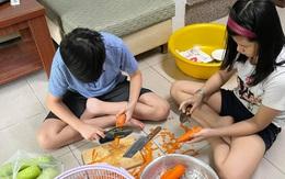 Những gia đình có lối sống tích cực tại nhà những ngày giãn cách ở TP.HCM