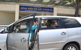 Chuyến xe đưa bệnh nhân COVID-19 xuất viện về nhà miễn phí ở Sài Gòn