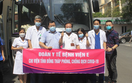 Gần 280 thầy thuốc Trung ương tiếp tục vào miền Nam chi viện trong ngày 18/8