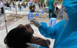 """Hà Nội """"điểm danh"""" 8 khu vực có tỷ lệ người ho, sốt phát hiện dương tính SARS-CoV-2 cao"""