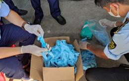 Nếu trót lọt, gần 150.000 đôi găng tay đã qua sử dụng sẽ được tiêu thụ tại thị trường TP Hồ Chí Minh