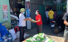 Bình Dương cung ứng thực phẩm cho người dân ở 11 phường thực hiện 'khóa chặt'
