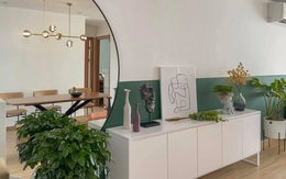 Ngắm căn hộ của gia chủ khó tính ở Hà Nội: Nội thất đẹp, lạ với tông màu xanh đậm
