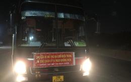 Phát hiện 39 người từ các tỉnh có dịch phía Nam trở về quê trái phép trên một xe khách