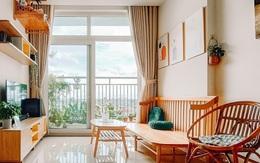 Căn hộ 60m² tràn ngập màu nắng, tinh tế đến từng góc nhỏ của vợ chồng ngành Y ở Sài Gòn