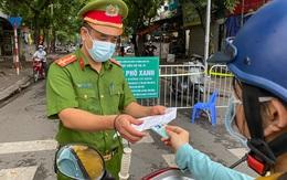 Ngày thứ 2 giãn cách đợt 3, Hà Nội xử phạt gần 1.000 trường hợp vi phạm phòng chống dịch