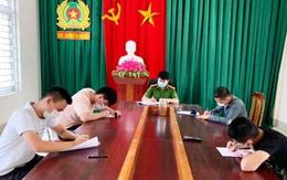 Nghệ An: 4 thanh niên ăn nhậu giữa mùa dịch bị đề xuất phạt 60 triệu đồng