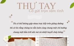 Bức thư tay đầy ắp tình cảm của cô giáo dạy Văn gửi học trò mùa dịch