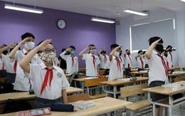 Hà Nội: Lễ khai giảng tổ chức tại một trường học và được truyền hình trực tiếp