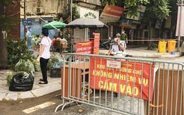 Cận cảnh khu phong toả ổ dịch 'nóng' nhất Hà Nội