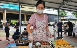"""Thanh Hóa: """"Bếp ăn 0 đồng"""" chia sẻ khó khăn với người dân trong khu cách ly"""