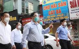 Thủ tướng Phạm Minh Chính đột xuất kiểm tra điểm nóng nhất về COVID-19 tại Hà Nội