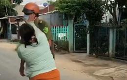 Chồng bị lập biên bản do vi phạm phòng dịch, vợ chửi bới, đánh công an