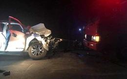 Nghệ An: Tai nạn thương tâm khiến 4 cán bộ y tế huyện thương vong