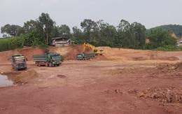 Sau quyết định xử phạt của Chủ tịch tỉnh, DN vẫn khai thác sai phép và gây nguy cơ tai nạn giao thông khi đấu nối mỏ đất vào QL1A
