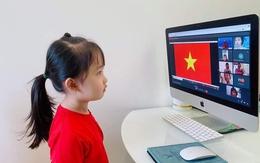 """Xúc động những buổi lễ khai giảng online từ hàng nghìn """"điểm cầu"""" của học sinh Hà Nội"""