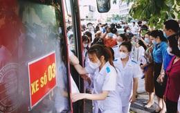 Khoảnh khắc rời đất Mỏ chi viện cho Hà Nội của đoàn y tế Quảng Ninh
